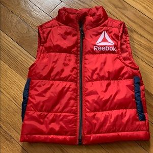 3/$30 Reebok Red Puffer Vest